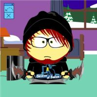 Me as a South Park character XD by Demon0fDarkness
