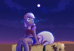 +MLP - Tune for the Moon+ by Kelsea-Chan