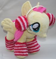 Custom My Little Pony Plush Winter Fluttershy 1 by eponyart