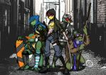 TMNT 2012 by dorsk188