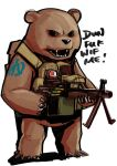 Bear with a machine gun by lazyseal8