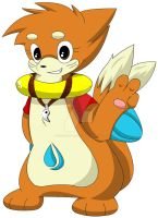 Izzy The Buizel After Comic. by Sonic201000