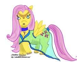 Gala Dress - Fluttershy by Adutelluma