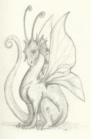 A Little Dragonling by Dellessanna
