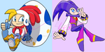 .:SEGA:. Morningland and Nightopia Heroes by SEGAMew