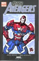 IRON PATRIOT sketch cover by jasinmartin