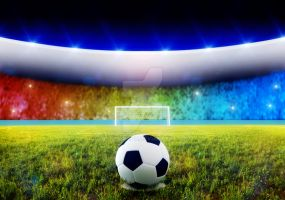 Soccer penalty kick by jordygraph