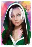Rogue (Marvel Beauties Collection) by j2Artist