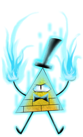 Bill Cipher by Laser-Pancakes