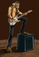 The Old Rocker in Color by deep-wulf