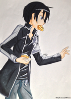Kirito Lunchtime COPIC by TobeyD