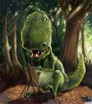Trex the artist by southercomfort