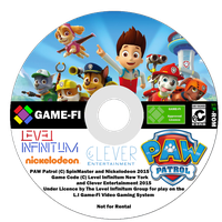 Paw Patrol Game-Fi Disk by LevelInfinitum