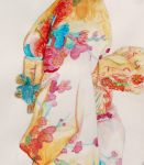 kimono painting - watercolor by LucaHennig