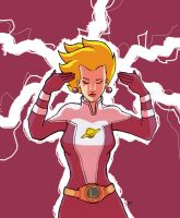 Saturn Girl by jdcunard