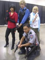 Anime Vegas Day 1 Resident Evil crew by Demon-Lord-Cosplay