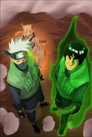 Naruto 566: The masters arrive by LudovicGarinot