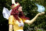 aurora and igniculus- child of light- cosplay by nonsochenomedare