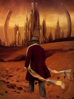 4th Doctor on Gallifrey by SimmonBeresford