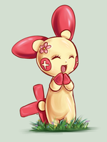 Plusle by RequestFag