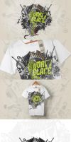 NORGLACE GRUNGE - T-SHIRT by deer-designs
