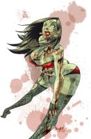 Zombie Tramp by theFranchize