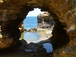 Cave window wide by CAStock