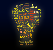 Idea Typography by pixiepot