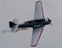 Harvard Mk4 Flyby 3 by shelbs2