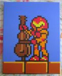 Samus plays the Cello from NES Tetris by MetroidDatabase