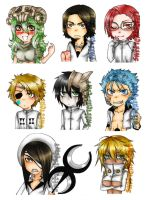 Arrancar set by sweetcrescent