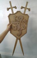 MDF Medieval Crest by bapabst