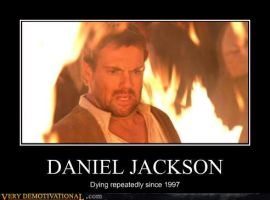 Daniel Jackson Demotivational by neromi18