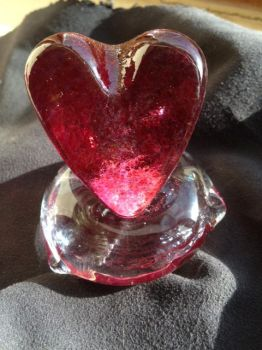 Heart on a Pillow by pontil