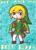Art Card 11 - Toon Link by VickyViolet