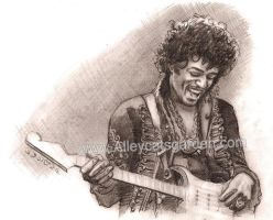 mr hendrix by Alleycatsgarden
