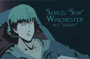 Anime Sam Winchester-Vector by TheDocRoach