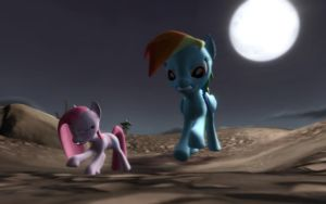 The Chase after cupcakes by JohnnyXLunaandRD