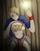 APH: Christmas and New Year 2012 by ChocolateWitch