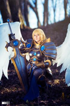 League of Legends : Battleborn Kayle by Shappi
