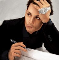 Johnny Depp (revised) by thewordlesssignature