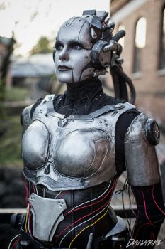 Adjutant Cosplay from StarCraft 2 by ChrixDesign