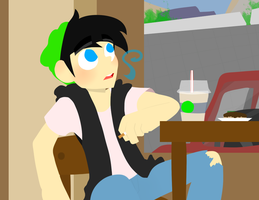 Hipster Danny by tv-headache