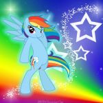 Waiting for You Rainbow Dash by MLR19