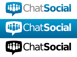 Chat Social Logo by xstortionist