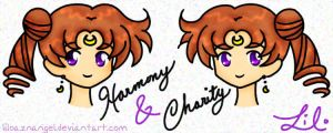 Harmony and Charity by LiLoAznAngel