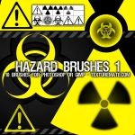Hazard Brushes 1 by AscendedArts
