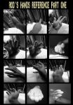 Hands reference part one ... by RODYTSUMURA