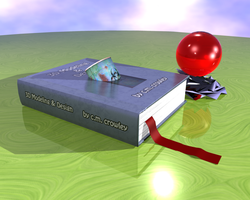 Final Book with Deco Statue by Vash-Crowley