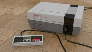 Nintendo Entertainment System (NES) by Marty--McFly